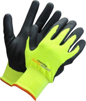Werkhandschoenen Worksafe P30-110W, CE Cat 2, nitril/nylon/acryl, maat 11, 6 paar