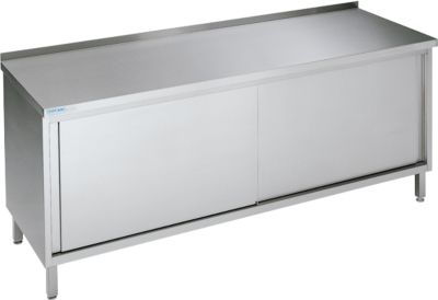 Werkkast met schuifdeuren, 850 x 700 x 1600 mm