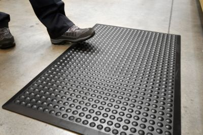 Werkplaatsmat Bubblemat Standaard, 600x900mm