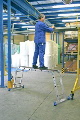 Werkplatform Combi-multiboard, 4 x 3 sporen