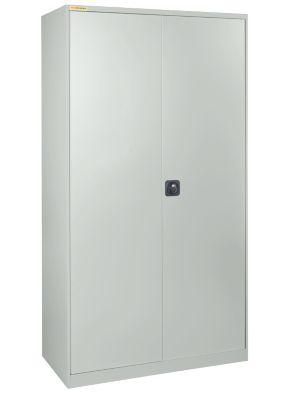 Werkstattschrank, B 1055 x T 420 mm, lichtgrau/lichtgrau