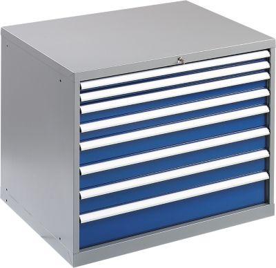 Werkzeugschrank WSK 5408-8L, 8 Schubladen, 800 mm hoch