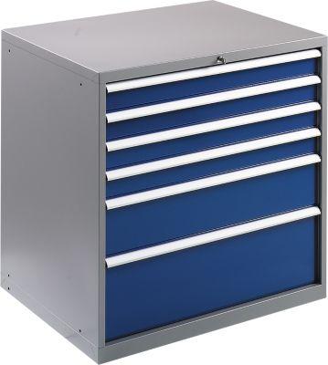 Werkzeugschrank WSK 5410-6E, 6 Schubladen, 1000 mm hoch