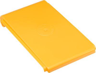 Wertstoff-Sammelsystem Karat 2000 Deckel für 40 Liter, gelb