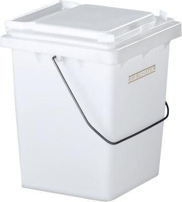 Wertstoffsammler Mülli, weiß/neutral