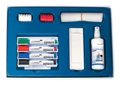 Whiteboard-Starter-Set Legamaster 7-125000, Marker, Wischer, Halter, Magnet, Reiniger, 17-teilig