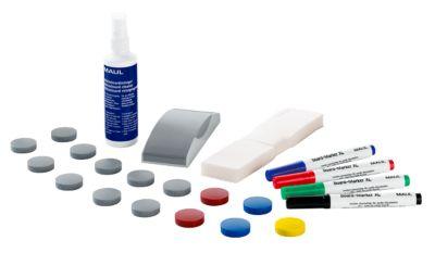 Whiteboard Zubehör Set MAUL Standard, 31-teilig, geeignet für alle Whiteboards