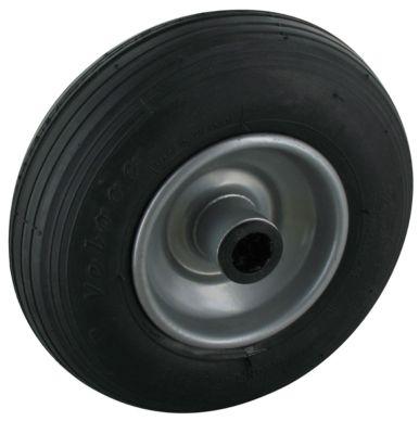wiel met luchtbanden, groefprofiel, 200 x 50 mm, 75 kg draagvermogen