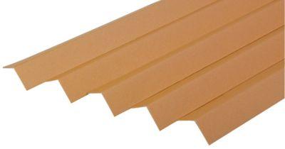 Winkelkanten-Schutzleisten aus Vollpappe, 1000 x 35 x 35 x 3,0 mm, 25 Stück