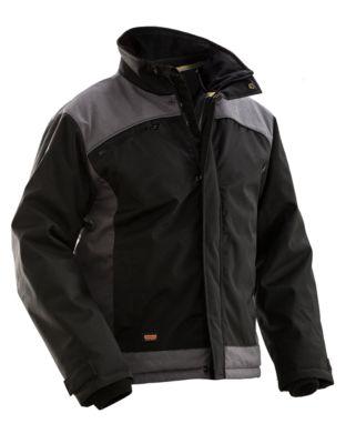 Winterjacke schwarz/grau XXXL