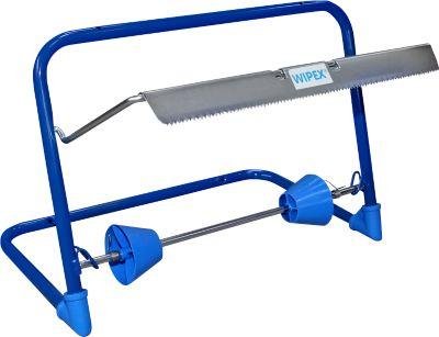 WIPEX wandhouder, voor rollen poetsdoeken tot 400 mm, l 500 x b 264 h 375 mm