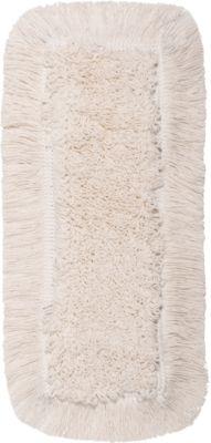 Wischmopp Bezug Sprintus Classic Pro, Baumwolle/Polyester, mit Laschen, B 400 mm, 5 Stück, weiß