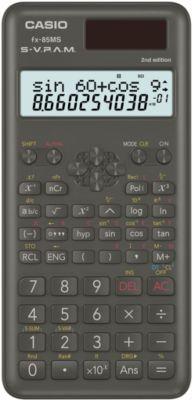 Wissenschaftlicher Taschenrechner Casio FX-85MS, 240 Funktionen, 2-Zeilen-Display, Solar/Batterie