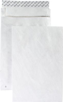 Witte enveloppen van Tyvek®, B4, 250 x 353 mm, doos van 100 stuks