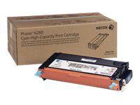 Xerox Phaser 6280 - mit hoher Kapazität - Cyan - Original - Tonerpatrone