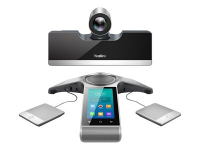 Yealink VC500 - Kit für Videokonferenzen - mit 2x CP Wireless Expansion Mic CPW90, Yealink VCS Phone CP960, Remote Control VCR11 and Cable Hub VCH50