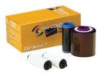 Zebra TrueColours ix Series YMCKOK - 1 - Farbe (Yellow, Magenta, Cyan, Black, Overlay, Black) - Farbbandkassette