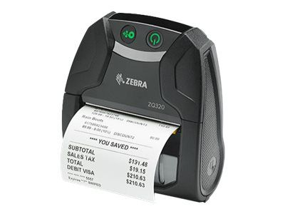 Zebra ZQ300 Series ZQ320 Mobile Receipt Printer - Belegdrucker - monochrom - direkt thermisch