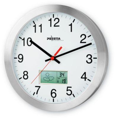 Zendergestuurde klok met weervoorspel., ø 300 mm