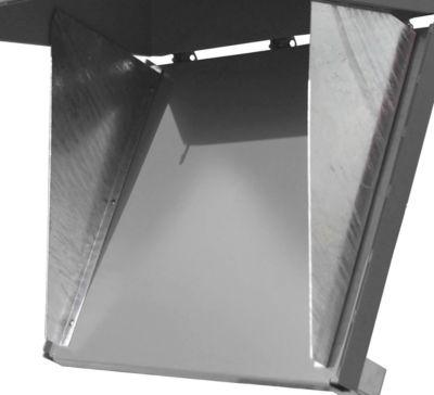 Zentrierwand, für Klappbodenbehälter FB 1000 + 1500 + 2000, verzinkt