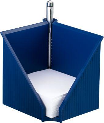Zettelkasten Linear, blau
