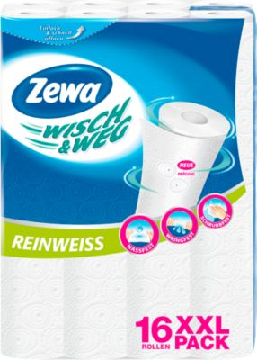 Zewa wisch & weg keukenrollen, 16 rollen