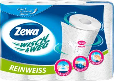 Zewa wisch & weg Küchenrollen, 4 Rollen