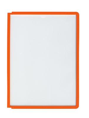 Zichtborden A4, 5 stuks, oranje