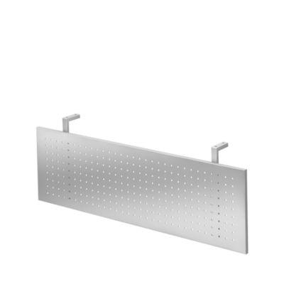 Zichtpaneel, voor hoek, b 800 x d 800 mm, zilverkleur