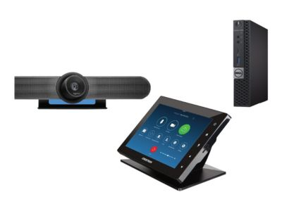 ZoomRooms Small Meeting Room B Kit - Kit für Videokonferenzen - 7 Zoll - mit Dell OptiPlex 7050 (Microsoft Windows IoT managed ZoomRooms build)
