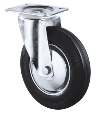 zwenkwiel, h 100 mm, draagvermogen 50 kg