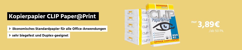 Kopierpapier CLIP Paper@Print von Schäfershop