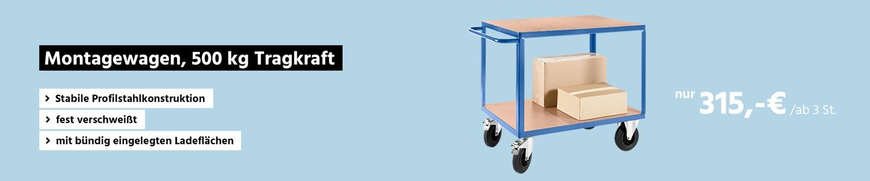 Montagewagen, 500 kg Tragkraft