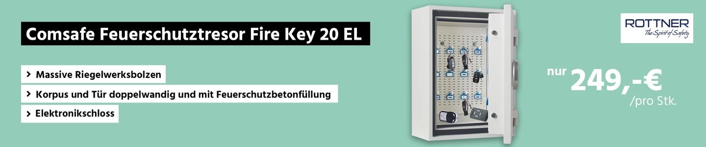 Comsafe Feuerschutztresor Fire Key 20 EL