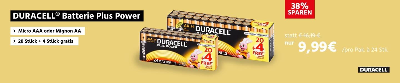 DURACELL® Batterie Plus Power