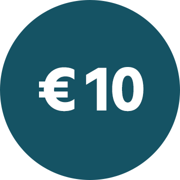 € 10,- Gutschein sichern