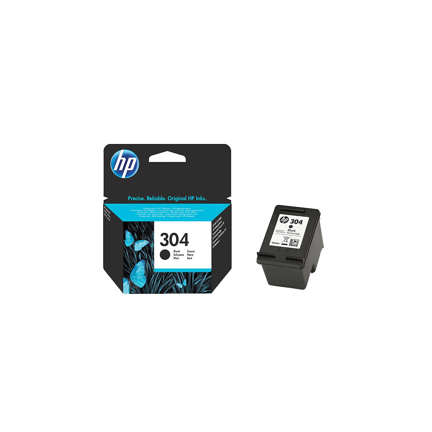 HP Tintenpatrone Nr. 304 schwarz N9K06AE, original