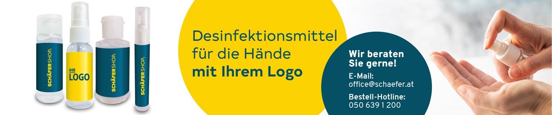 Desinfektionsmittel mit Ihrem Logo