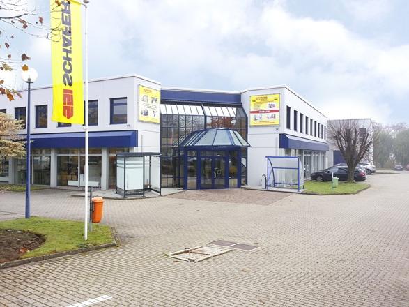 Gebouw Schäfer Shop