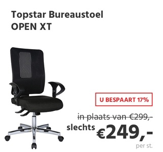 Topstar OPEN XT bureaustoel