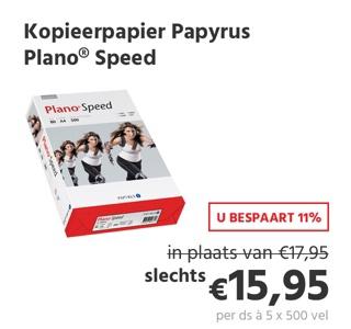Kopieerpapier Papyrus Plano® Speed