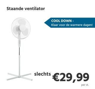 Staande ventilator