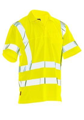 Poloshirt Jobman 5583 PRACTICAL Spun Dye Hi-Vis, EN ISO 20471 klasse 2/3, PBM 2, geel
