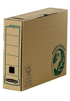 Bankers Box® archiefdozen Earth Series , A4 formaat, rug van 80 mm, 20 stuks