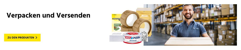 Verpackungsartikel für einen reibungslosen Versand