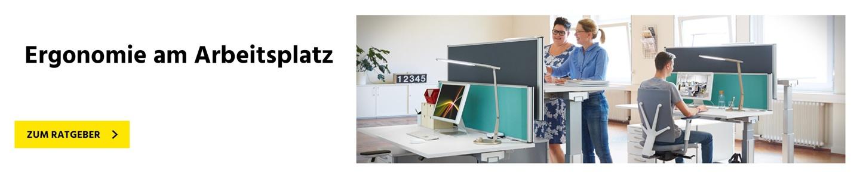 Höhenverstellbare Tische für Ergonomie am Arbeitsplatz