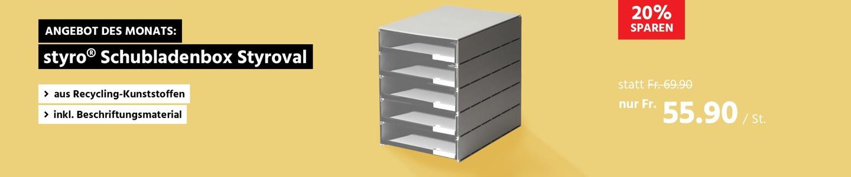 styro® Schubladenbox Styroval