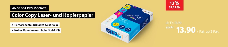 Color-Copy Laser- und Kopierpapier, 160 g/qm, DIN A4