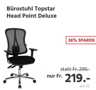 Bürostuhl Topstar Head Point Deluxe