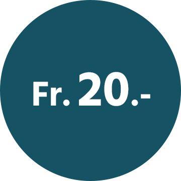 Newsletter: 20-Franken-Gutschein